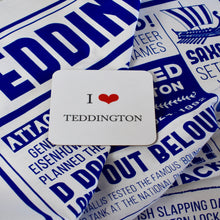 Load image into Gallery viewer, I Heart Teddington Coaster
