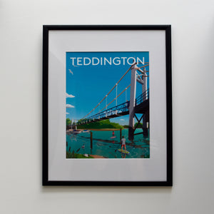 Teddington Digital Art Print
