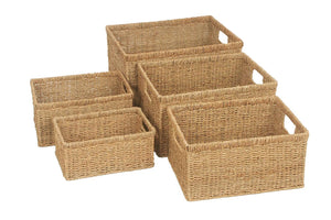 Seagrass Storage Baskets  - 5 Sizes
