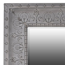 Load image into Gallery viewer, Large Grey Embossed Mirror