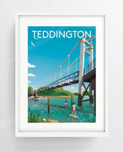 Load image into Gallery viewer, Teddington Digital Art Print
