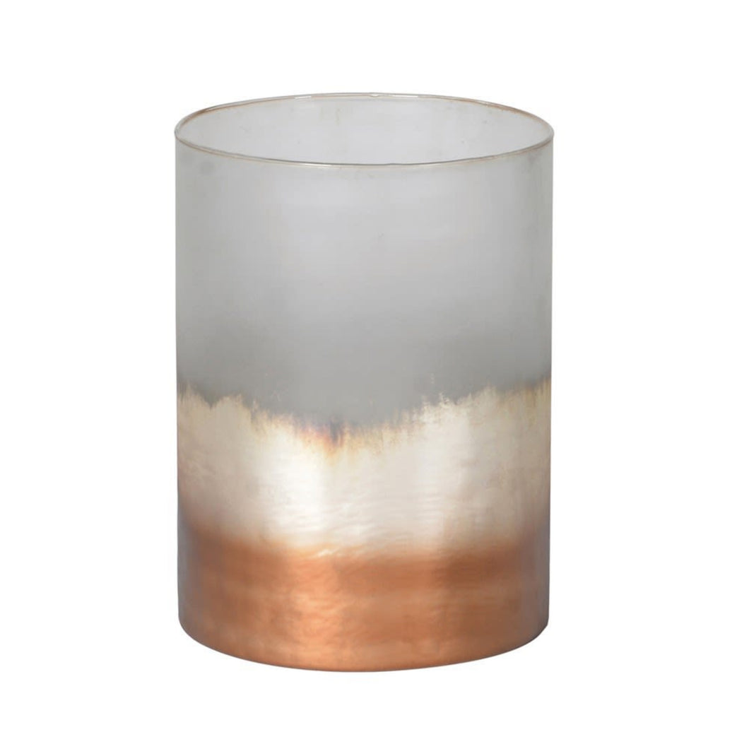 Frosty Copper Votive - 2 Sizes