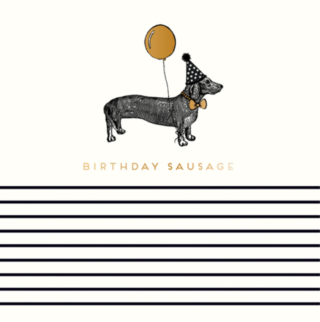 Birthday Sausage card