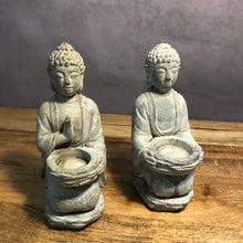 Load image into Gallery viewer, Mystic Garden Buddha Tea Light Holder