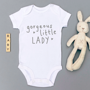 Babygrow Little Lady White 0-3 Months