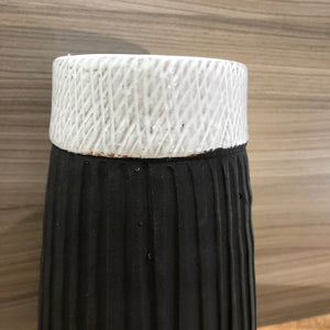 Medium vase - Black/White