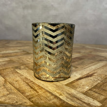 Load image into Gallery viewer, Zig Zag Tealight - Small