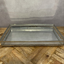 Load image into Gallery viewer, Rectangular Nickel Plated Tray - Large