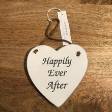 Load image into Gallery viewer, Wooden Heart Shape Sign