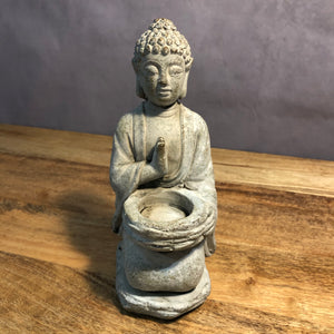 Mystic Garden Buddha Tea Light Holder
