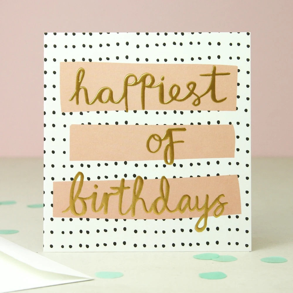 Happiest Of Birthday Card