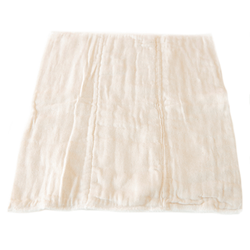 Muslin trifold nappy insert
