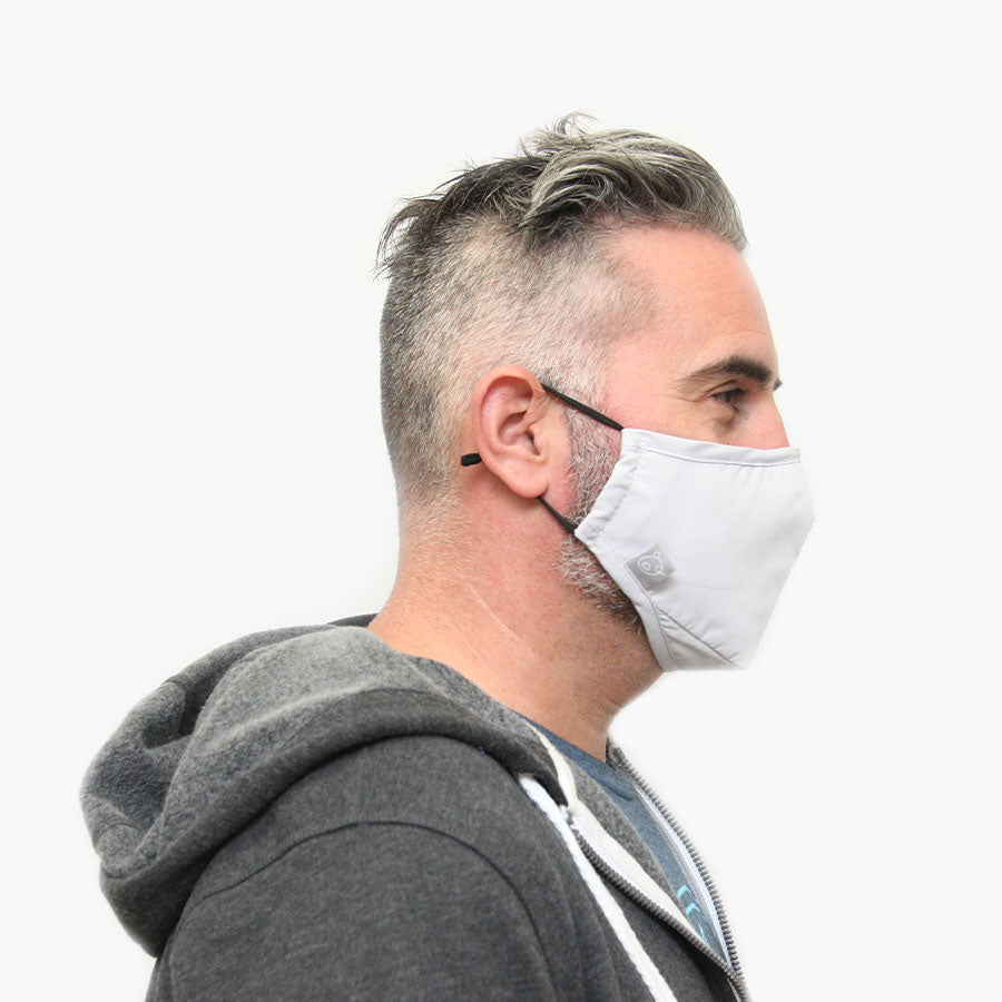 grey reusable face mask near me