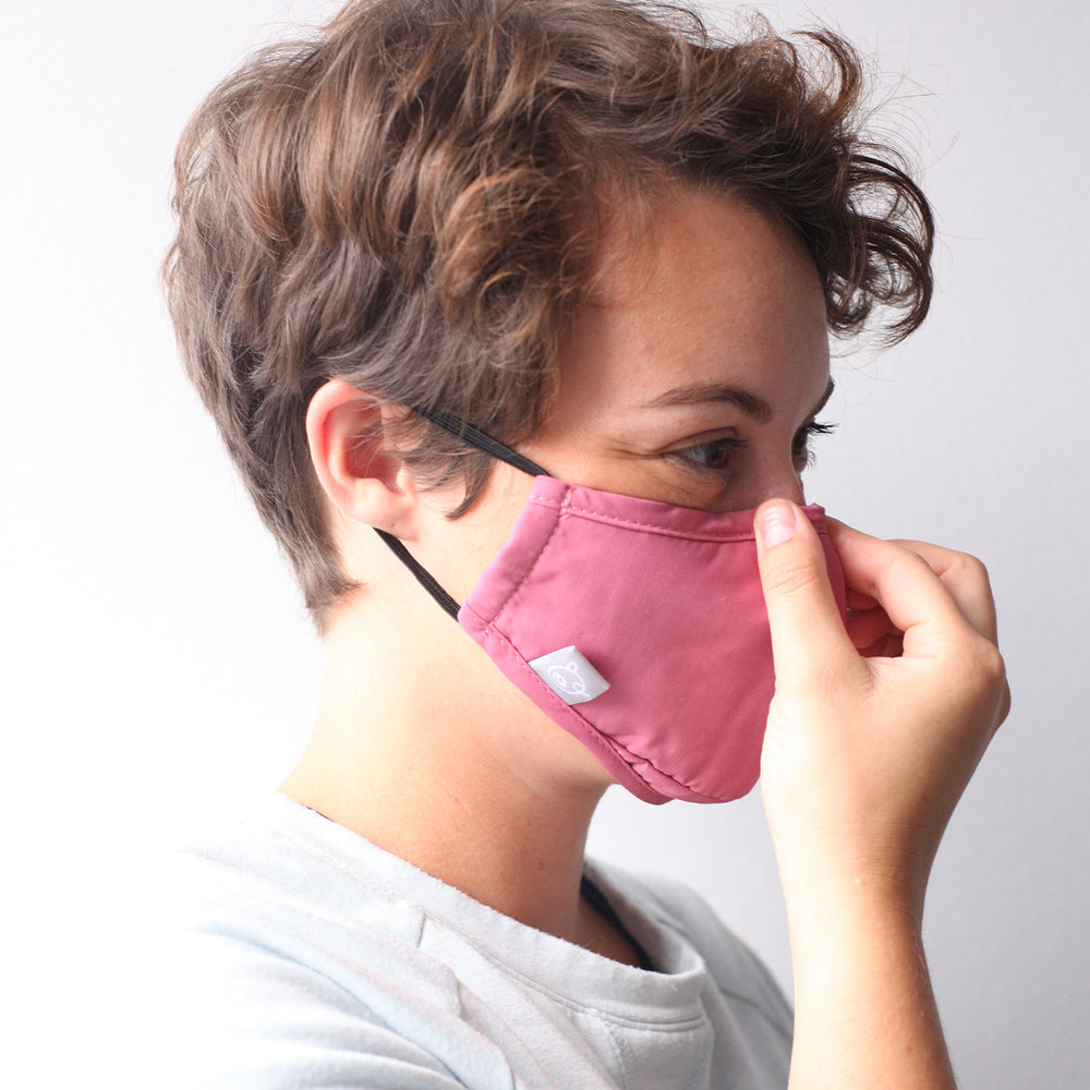 Small Reusable Face Mask - Kaki