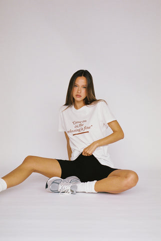 TEE SUITE 2.0 | WHITE