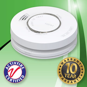 INSTOCK. EP RF Module for the Vulcan Series 240V Hard Wired Photoelectric Smoke Alarm With Lithium Battery Backup