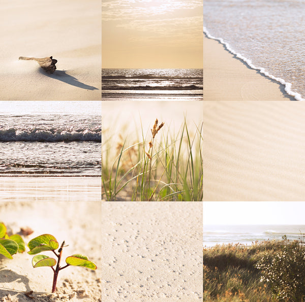 Peach by the beach - set of 73 images