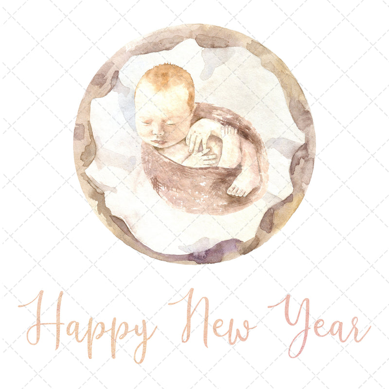 Set of 6 Event Graphics - Watercolour Baby Graphics