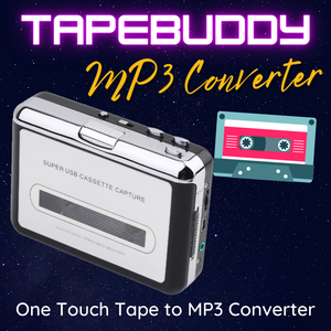 TapeBuddy Cassette to MP3 USB Player/Converter