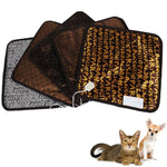 Waterproof Pet Dog Cat Electric Heat Pad Heated Blanket Heating Mat Warmer Adjustable Temperature Control