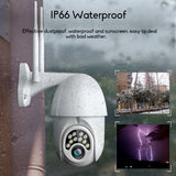10LED 5X Zoom HD 2MP IP Security Camera Wireless 1080P Outdoor Cam