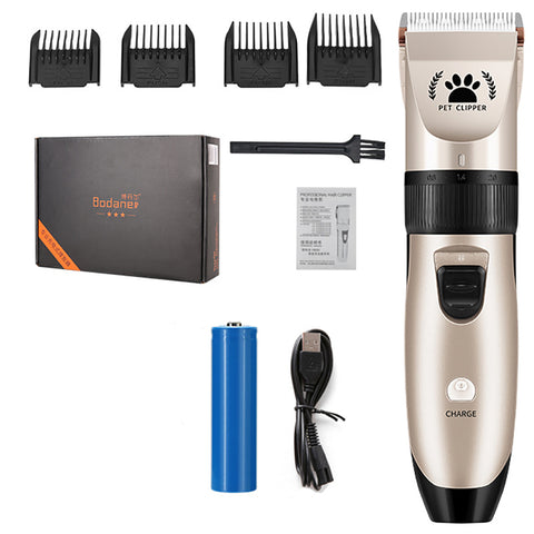 Professional Cordless Dog Cat Hair Clipper Portable Electric Trimmer Grooming Tool Pet Haircut Shaver Machine