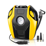 12V Portable Car Tyre Inflator Compact 150PSI Air Compressor Pump Accurate Gauge Bright LED Light
