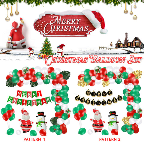 Christmas Home Party Balloon Decoration Set