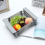 Kitchen Cup Fruit Dish Drying Drain Tray Water Mug Rack Organizer