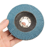 115mm Flap Sanding Disc 40 60 80 120 Zirconium Oxide Grit Wheel for Angle Grinder