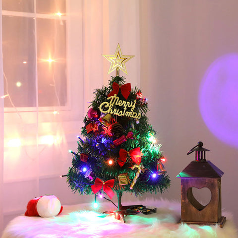 Tabletop Christmas Tree Holiday Decoration LED Artificial Trees
