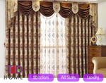 Blockout Eyelet Curtain Drape Sheer Blackout Panels