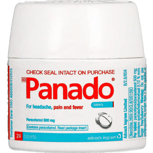 Panado Tablets Spartan Pack