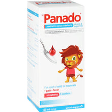 Load image into Gallery viewer, Panado Paediatric Strawberry Syrup