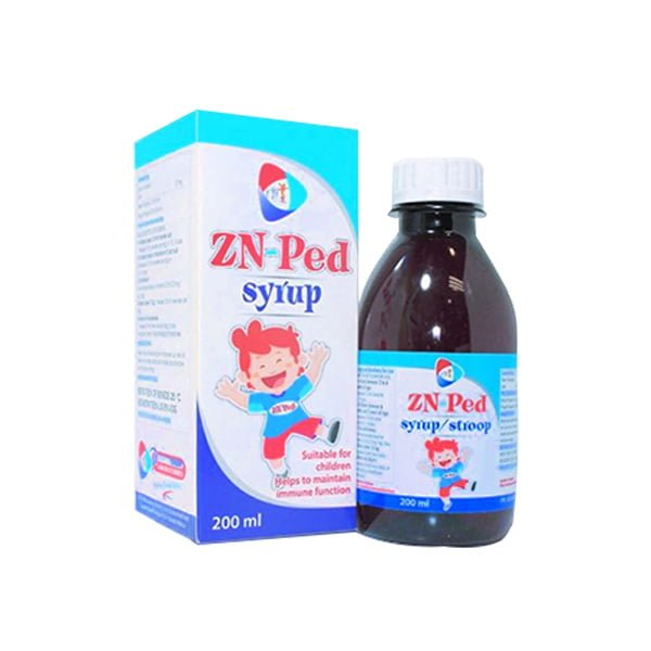 Zn-Ped 200ml Syrup