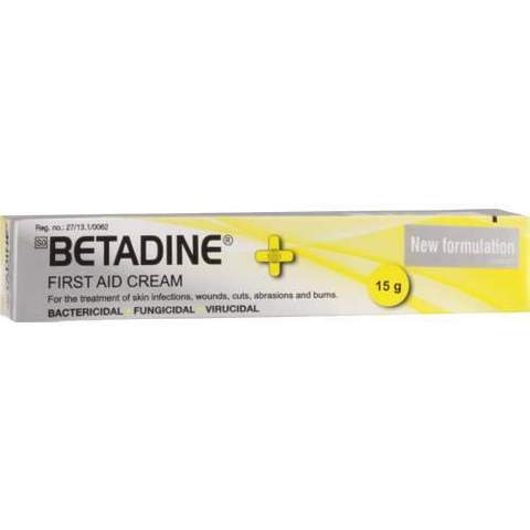 Betadine First Aid 15g Cream