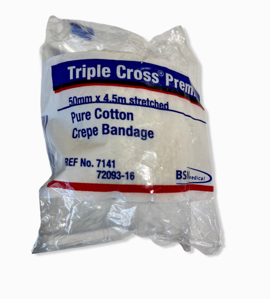 BSN  Triple Cross Premium 50mm x 4.5m Crepe Bandage
