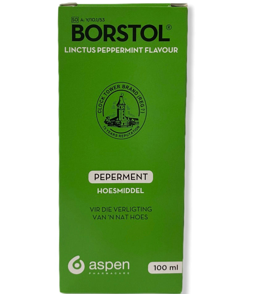Borstol Peppermint 100ml Cough Linctus