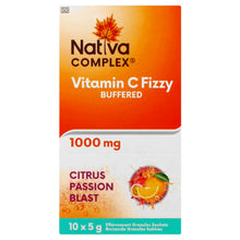 Load image into Gallery viewer, Nativa Complex Vitamin C Fizzy 10 Sachets
