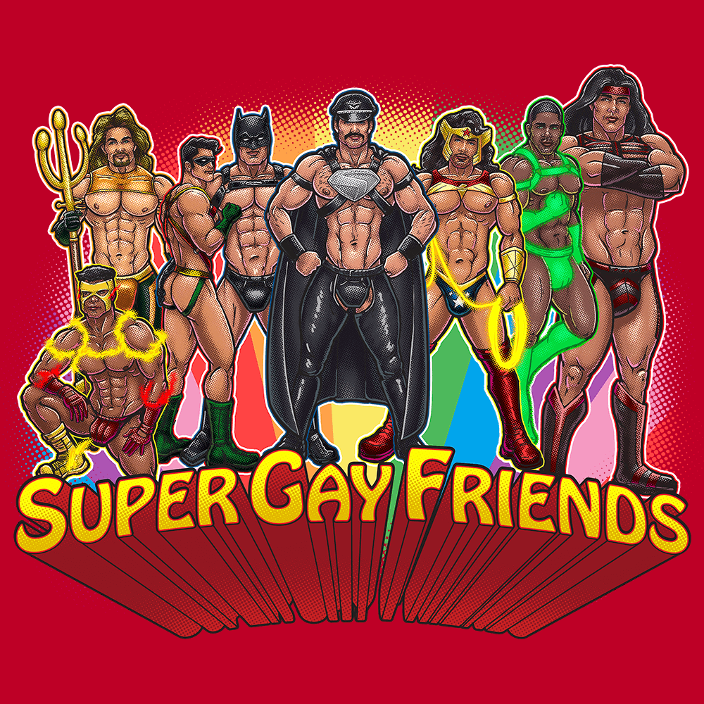 Supergay Friends