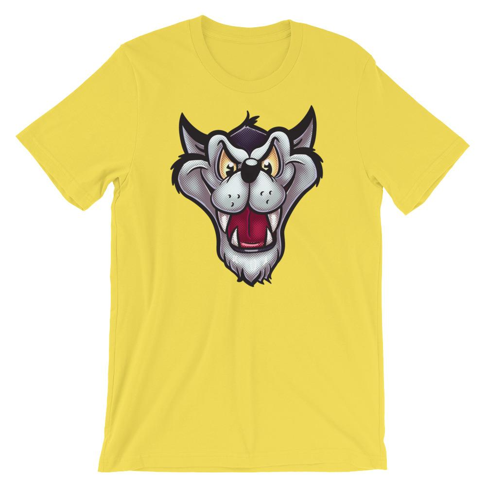 Big Bad Wolf-T-Shirts-Swish Embassy