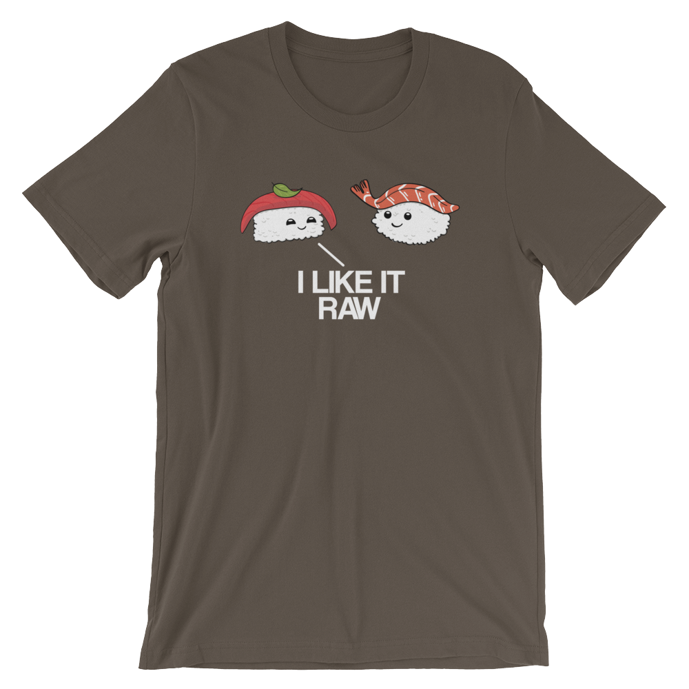 I Like it Raw-T-Shirts-Swish Embassy