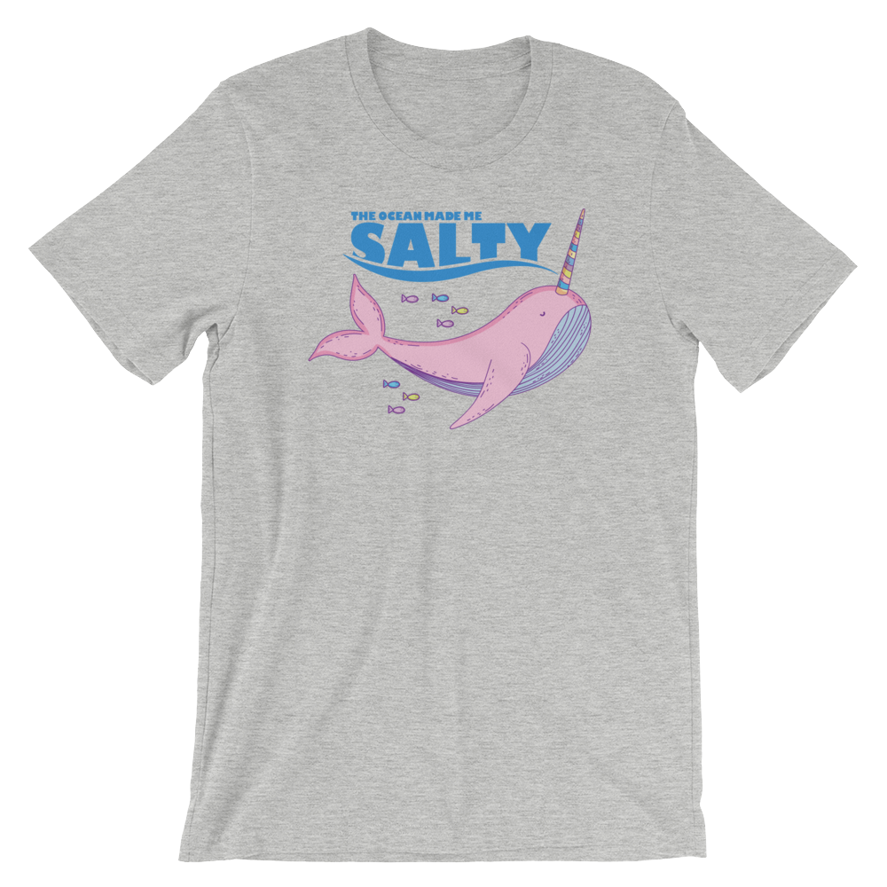 Salty Narwhal-T-Shirts-Swish Embassy