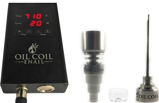 Oil Coil Enail with Hybrid Nail