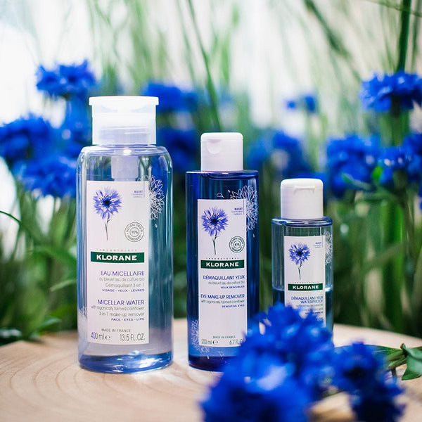 Klorane Micellar Water With Organically Farmed Cornflower