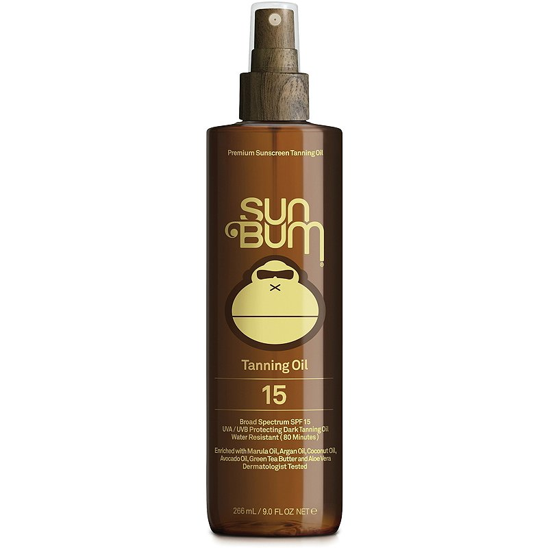 Sun Bum SPF 15 Sunscreen Tanning Oil