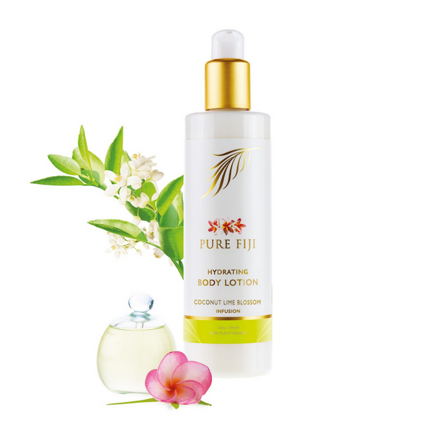 Pure Fiji Coconut Lime Blossom Hydrating Body Lotion