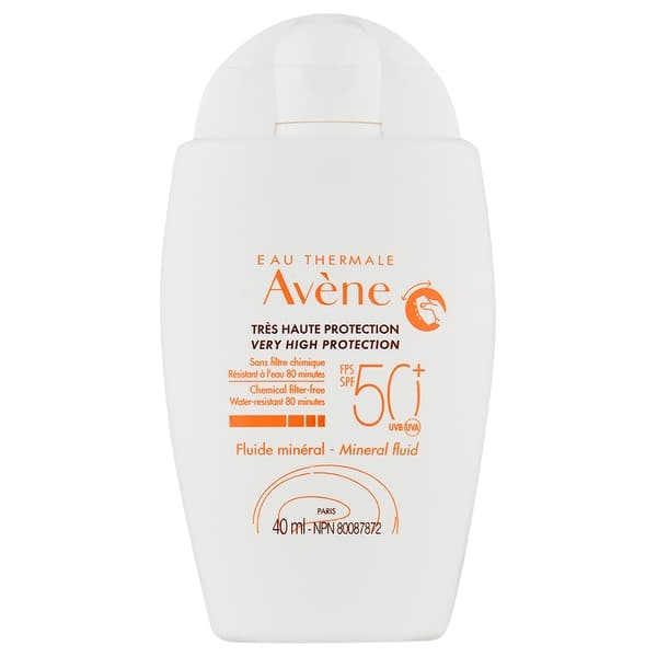 Avene Mineral Sunscreen Fluid SPF50