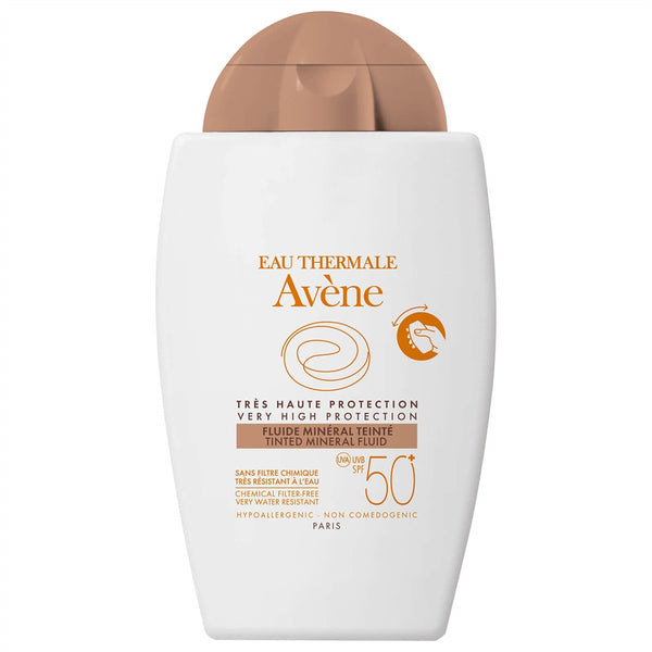 Avene Tinted Mineral Sunscreen Fluid SPF50