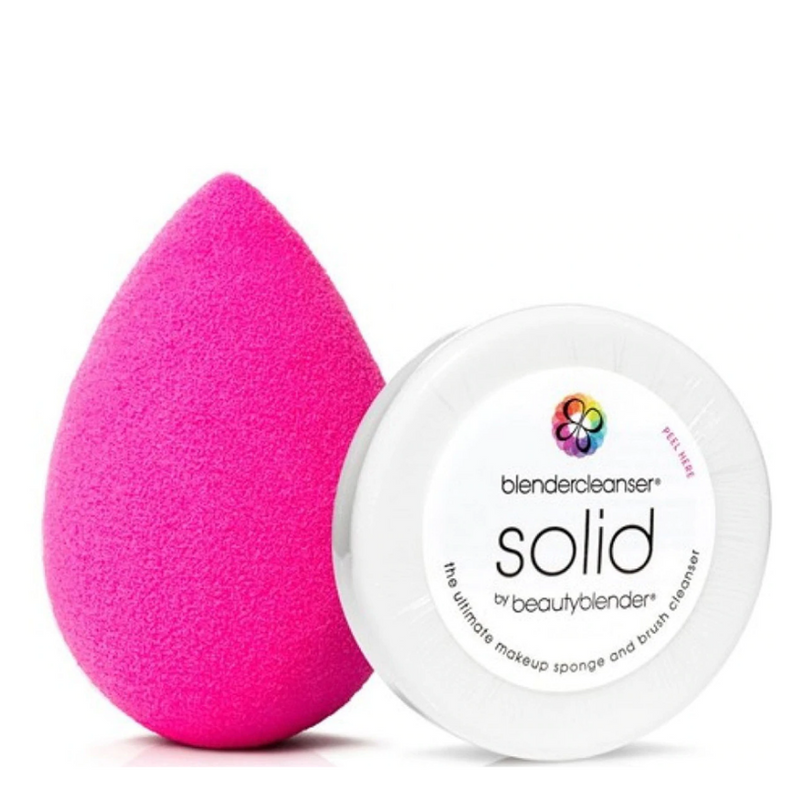 Beautyblender Original Makeup Sponge + Solid Cleanser